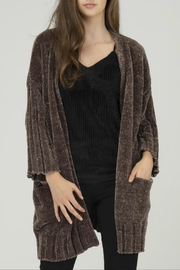 FATE by LFD Chenille Open Cardigan - Product Mini Image