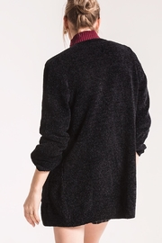 rag poets Chenille Open Cardigan - Front full body