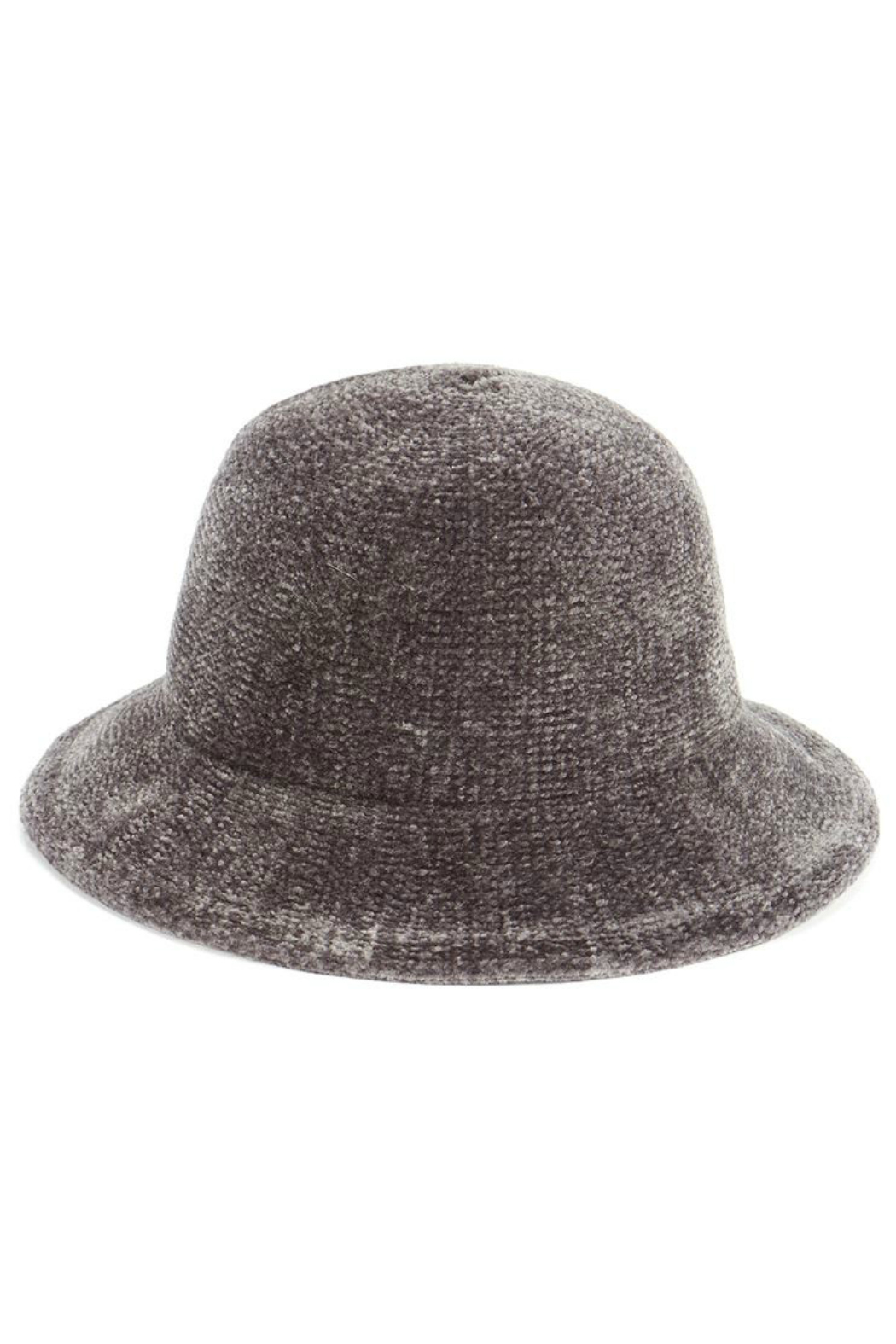 Coco+Carmen Chenille pack-able-bucket hat - Front Cropped Image