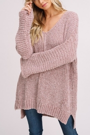 Gifted Chenille Pullover Sweater - Product Mini Image
