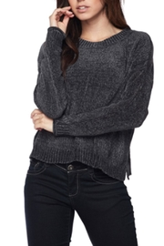 Ambiance Chenille Round-Neck Sweater - Product Mini Image