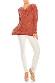 HYFVE Chenille Ruby Sweater - Product Mini Image