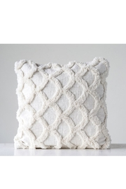 Creative Co-Op Chenille Scalloped Pillow - Product Mini Image