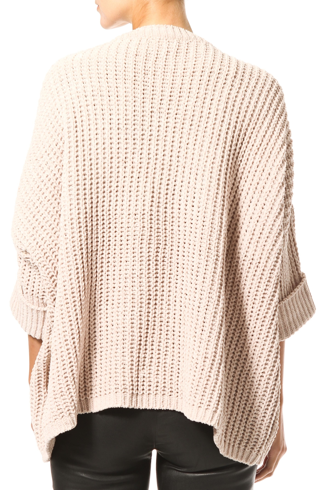Madonna & Co Chenille Sweater - Side Cropped Image