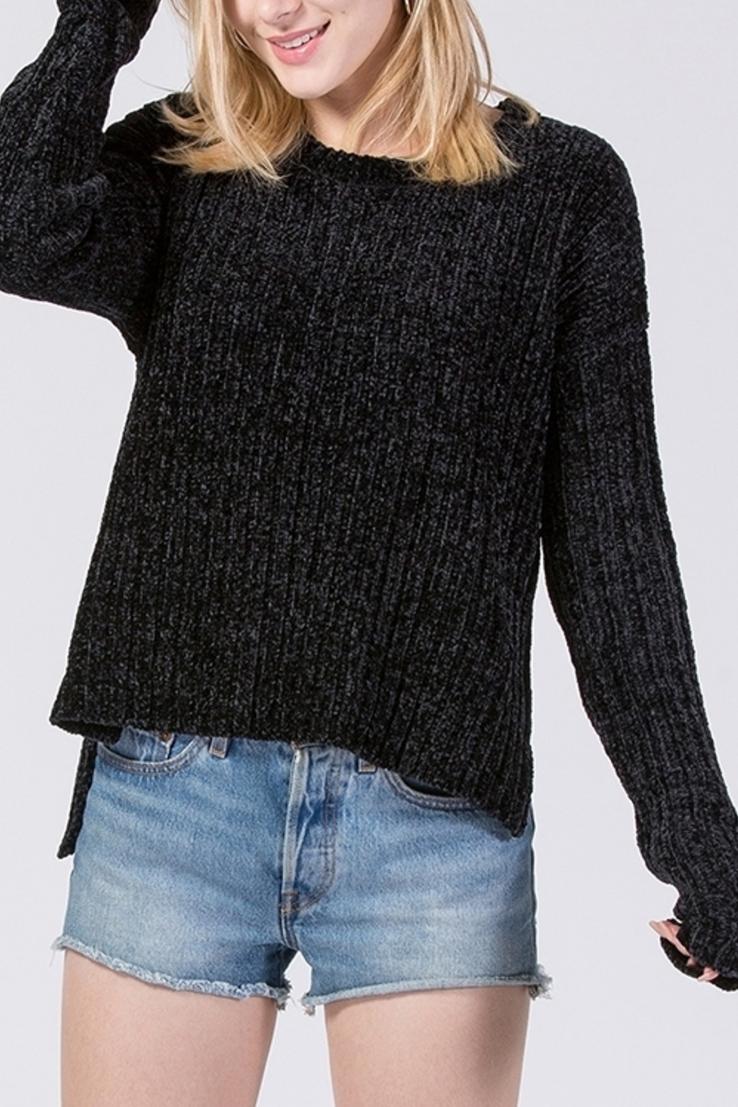 HYFVE Chenille Sweater - Side Cropped Image