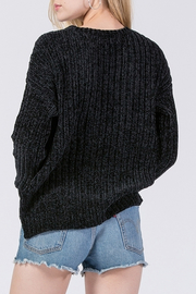 HYFVE Chenille Sweater - Back cropped