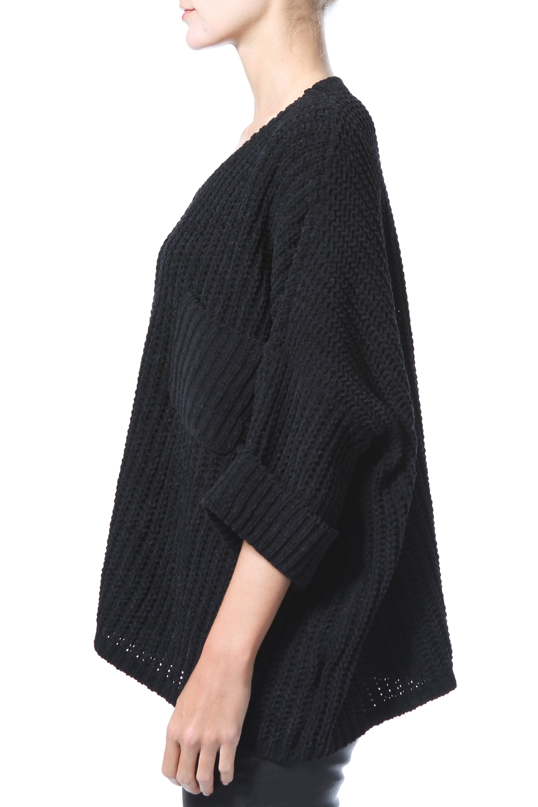 Madonna & Co Chenille Sweater - Front Full Image