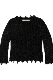 Vintage Havana Chenille Sweater - Front cropped