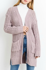 Papercrane Chenille Sweater Cardigan - Product Mini Image