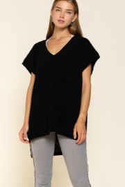 POL  Chenille Thread Sweater - Front cropped
