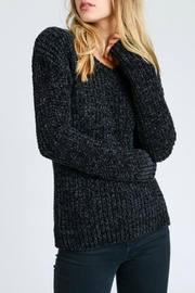 Lovetree Chenille V-Neck Sweater - Front cropped