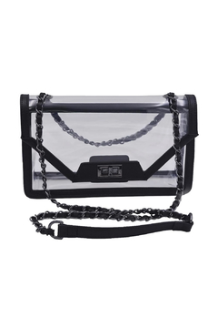 Policy Handbags Cher Clear Envelope Clutch - Product List Image