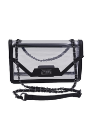 Policy Handbags Cher Clear Envelope Clutch - Front cropped