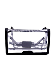 Policy Handbags Cher Clear Envelope Clutch - Front full body