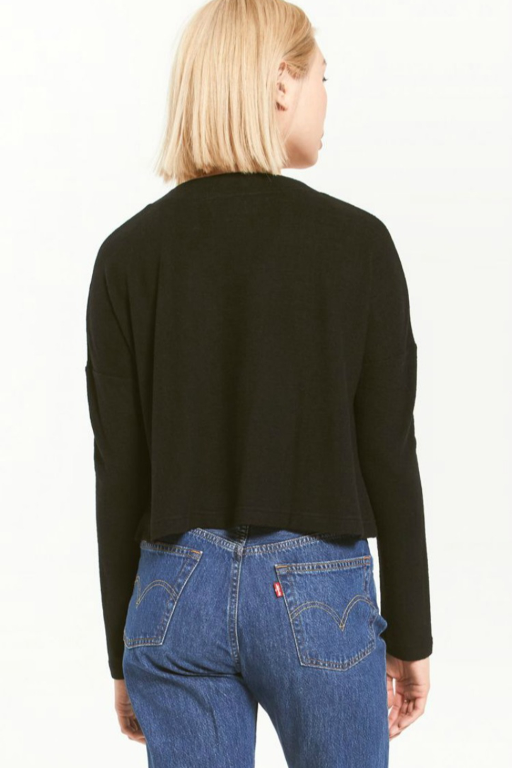 z supply Cher Slub Sweater - Side Cropped Image