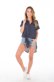Rumor Cherie Blouse - Front cropped