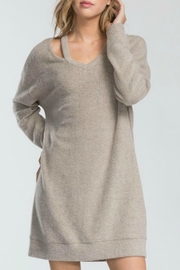 Cherish Adriana Sweater Dress - Product Mini Image