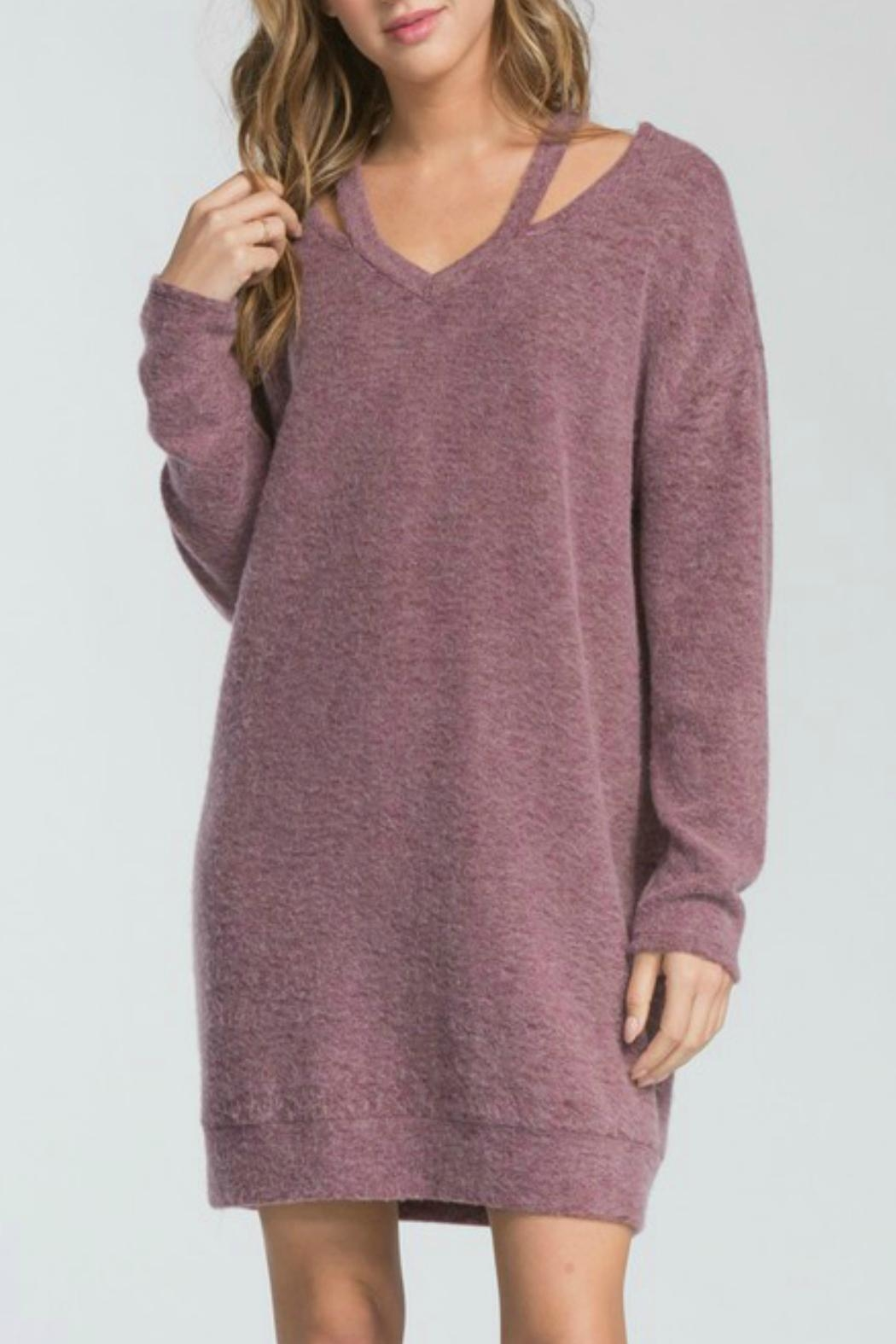Cherish Adriana Sweater Dress - Main Image