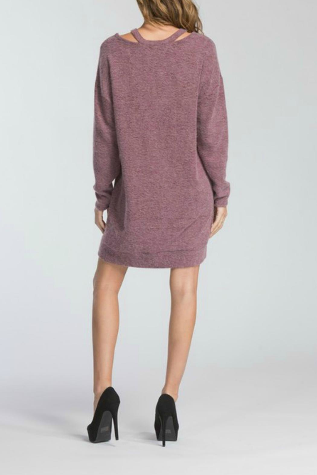 Cherish Adriana Sweater Dress - Front Full Image