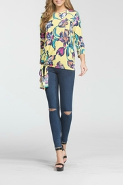 Cherish Arika Floral Top - Front full body