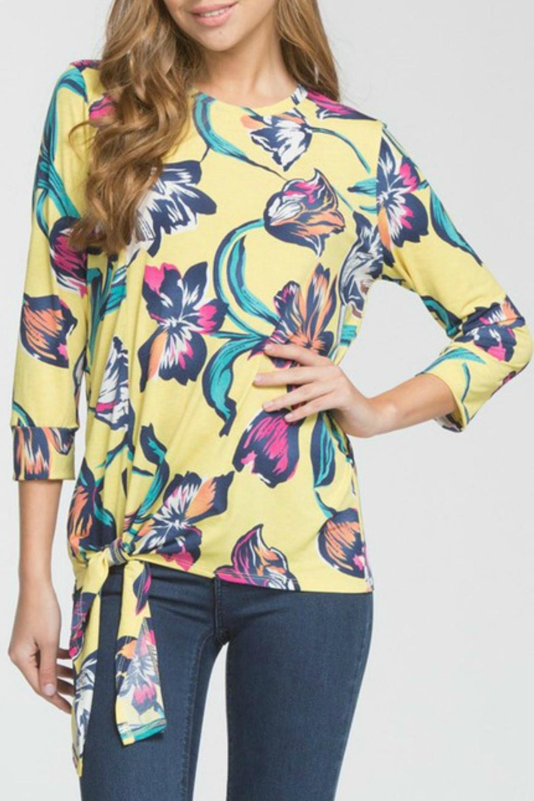Cherish Arika Floral Top - Main Image