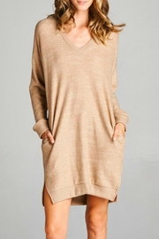 Cherish Arika Sweater Dress - Product Mini Image