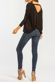 Cherish Back-Twist Long-Sleeve Top - Other