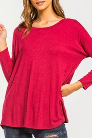 Cherish Back-Twist Long-Sleeve Top - Front cropped