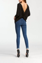 Cherish Backless Sweater Top - Side cropped