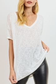 Cherish Basic Vneck Tee - Product Mini Image