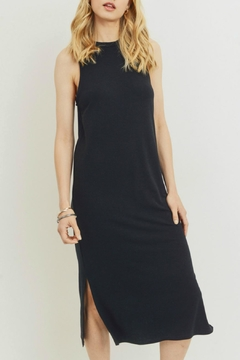 Cherish Black Midi Dress - Product List Image
