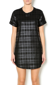 Shoptiques Product: Black Plaid Dress