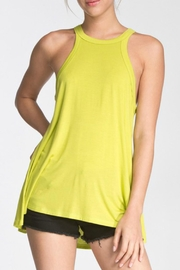 Cherish Bright Green Tank - Product Mini Image