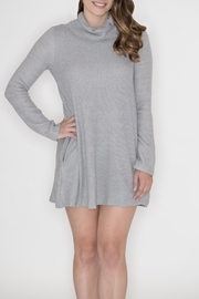 Cherish Button Cowl Dress - Product Mini Image