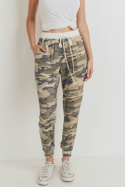 Cherish Camo Jogger Pants - Product Mini Image