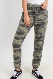 Cherish Camo Jogger Pants - Front cropped
