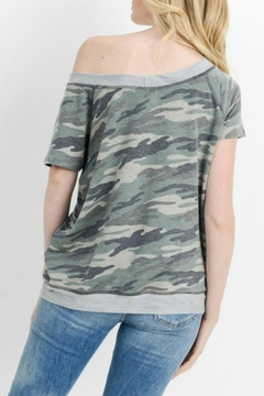 Cherish Camo Pocketed Top - Alternate List Image