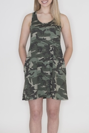 Cherish Camouflage Tank Dress - Product Mini Image