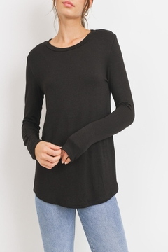 Cherish Casual Jersey-Knit Top - Product List Image