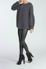 Cherish Charcoal Knit Top - Product Mini Image