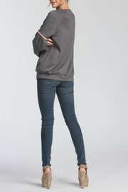Cherish Charcoal Pullover - Side cropped