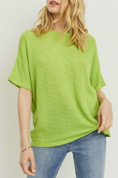 Cherish Claudia Knit Top - Product List Image