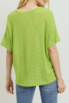 Cherish Claudia Knit Top - Alternate List Image