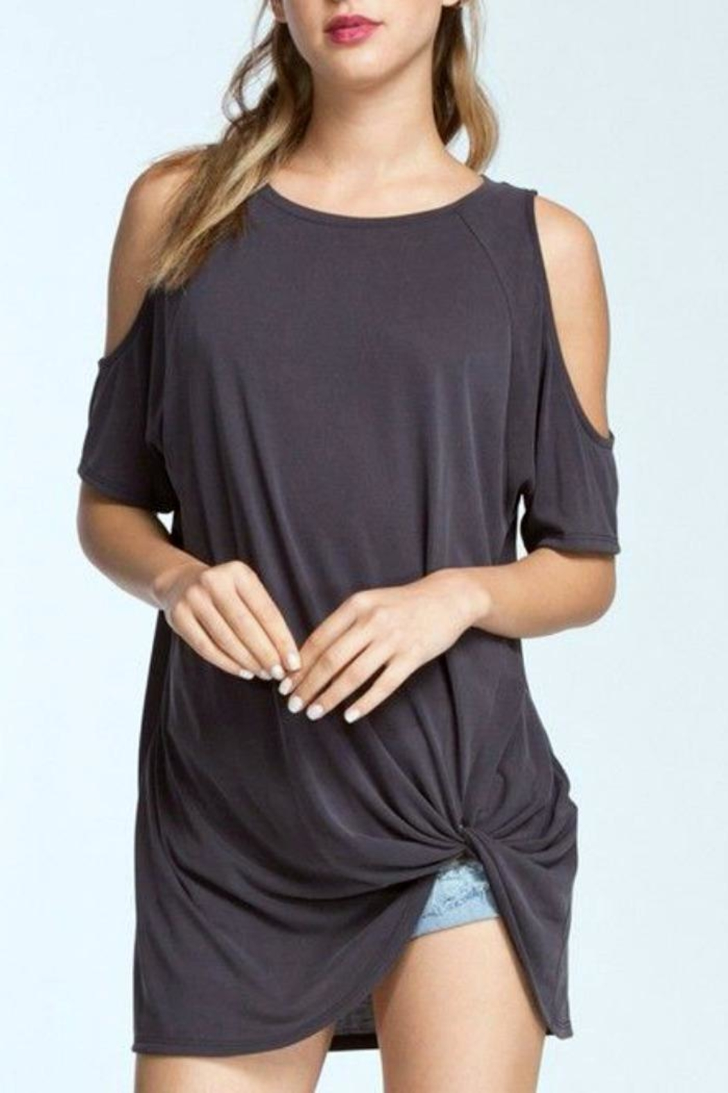 8431cfcb2ea4b5 Cherish Cold Shoulder Top from Seattle by SIMPLY CHIC — Shoptiques