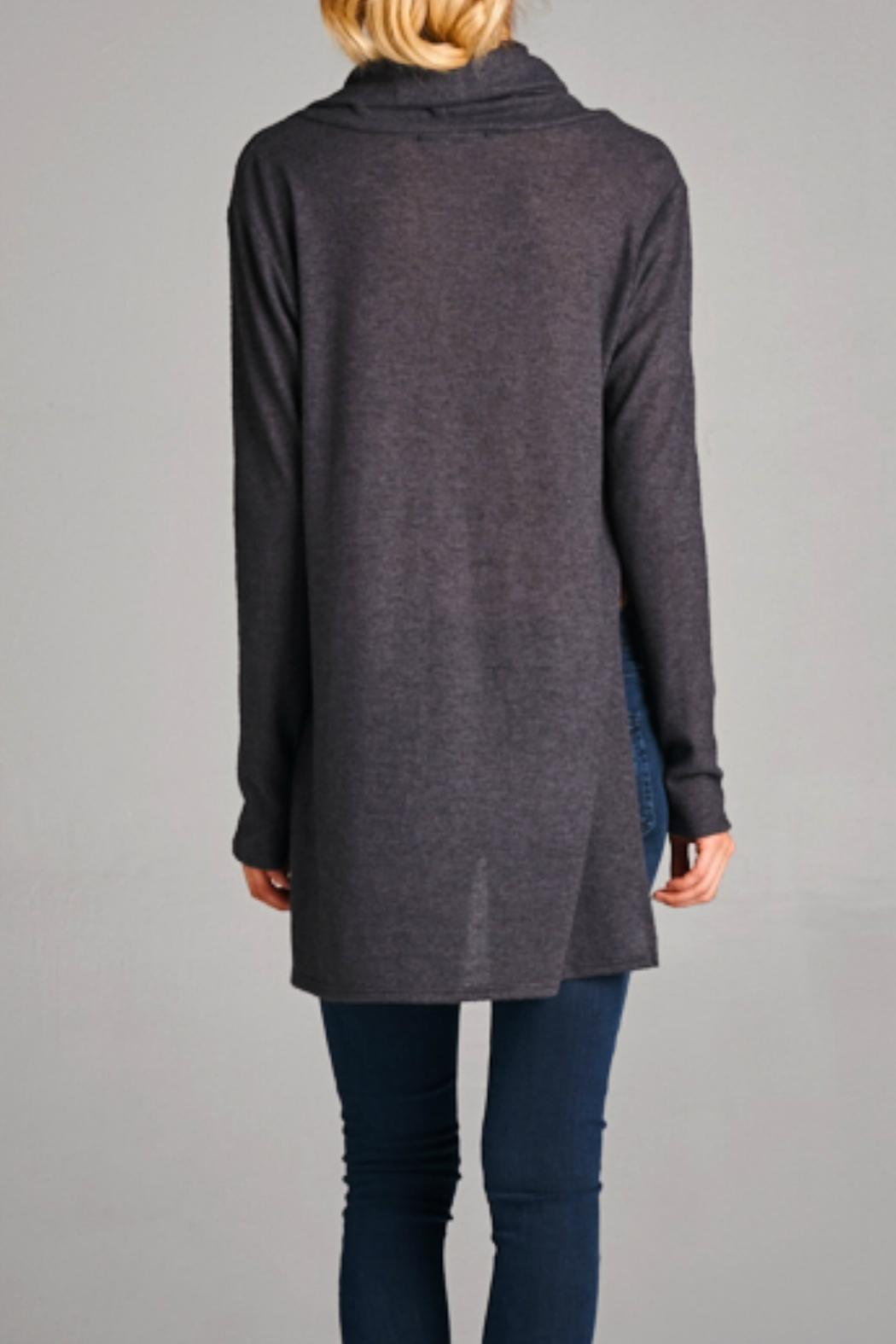 Cherish Cowl Neck Sweater from Kansas by Lilly and Marie — Shoptiques