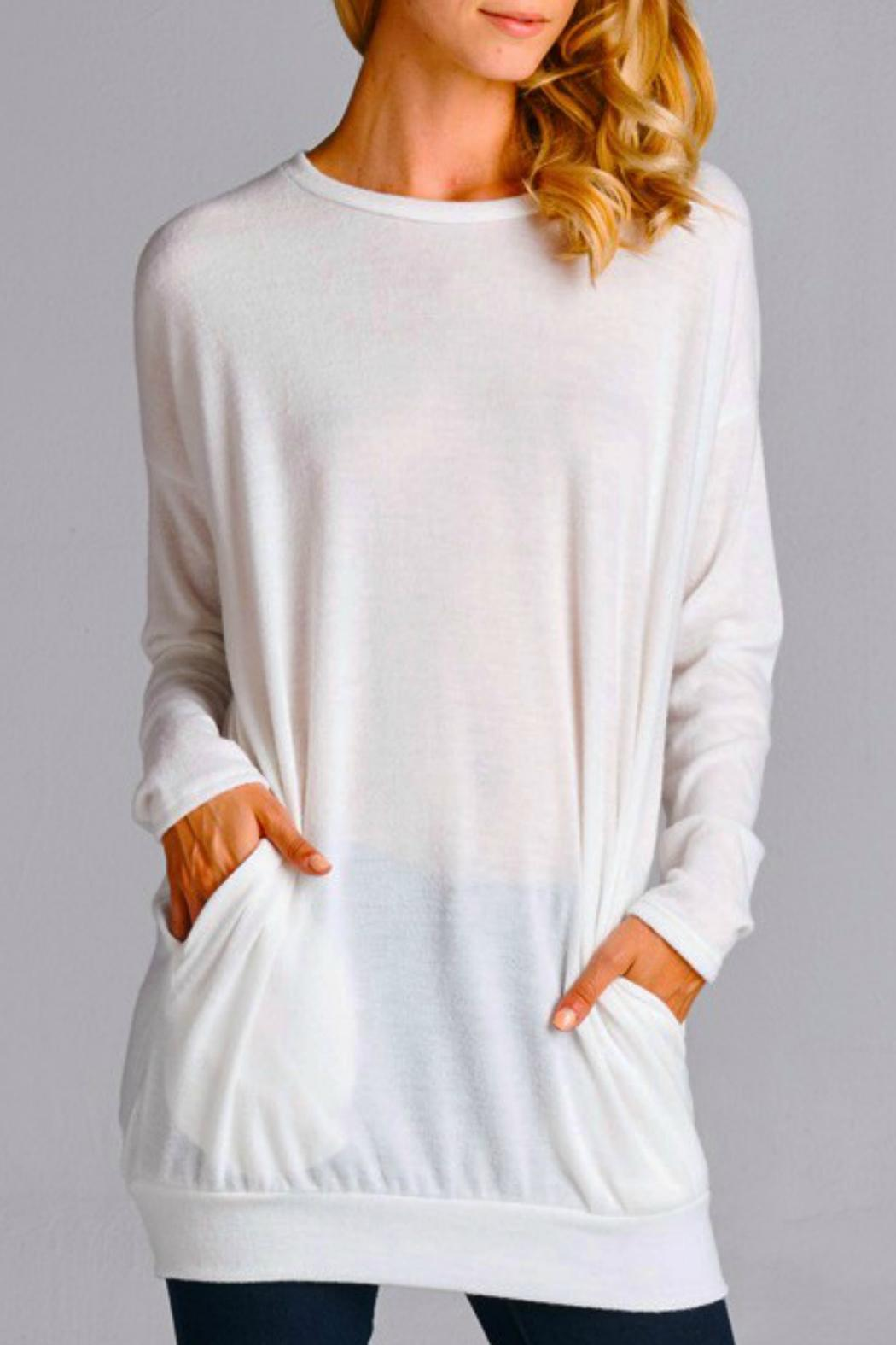 Cherish Cozy Tunic Sweater from San Diego by Laundry — Shoptiques