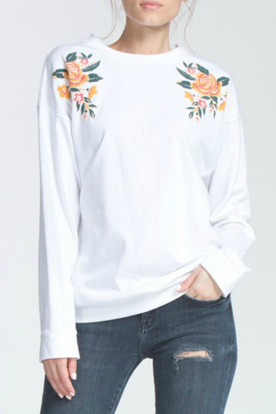 Cherish Terry Knit Top - Front Cropped Image