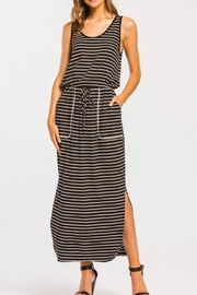 Cherish Drawstring-Waist Midi Dress - Product Mini Image