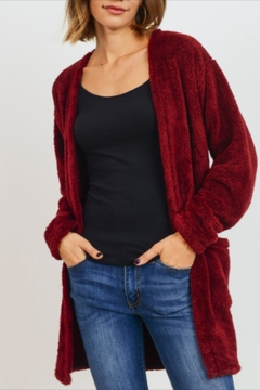 Cherish Dreamy Fuzzy Cardigan - Product List Image