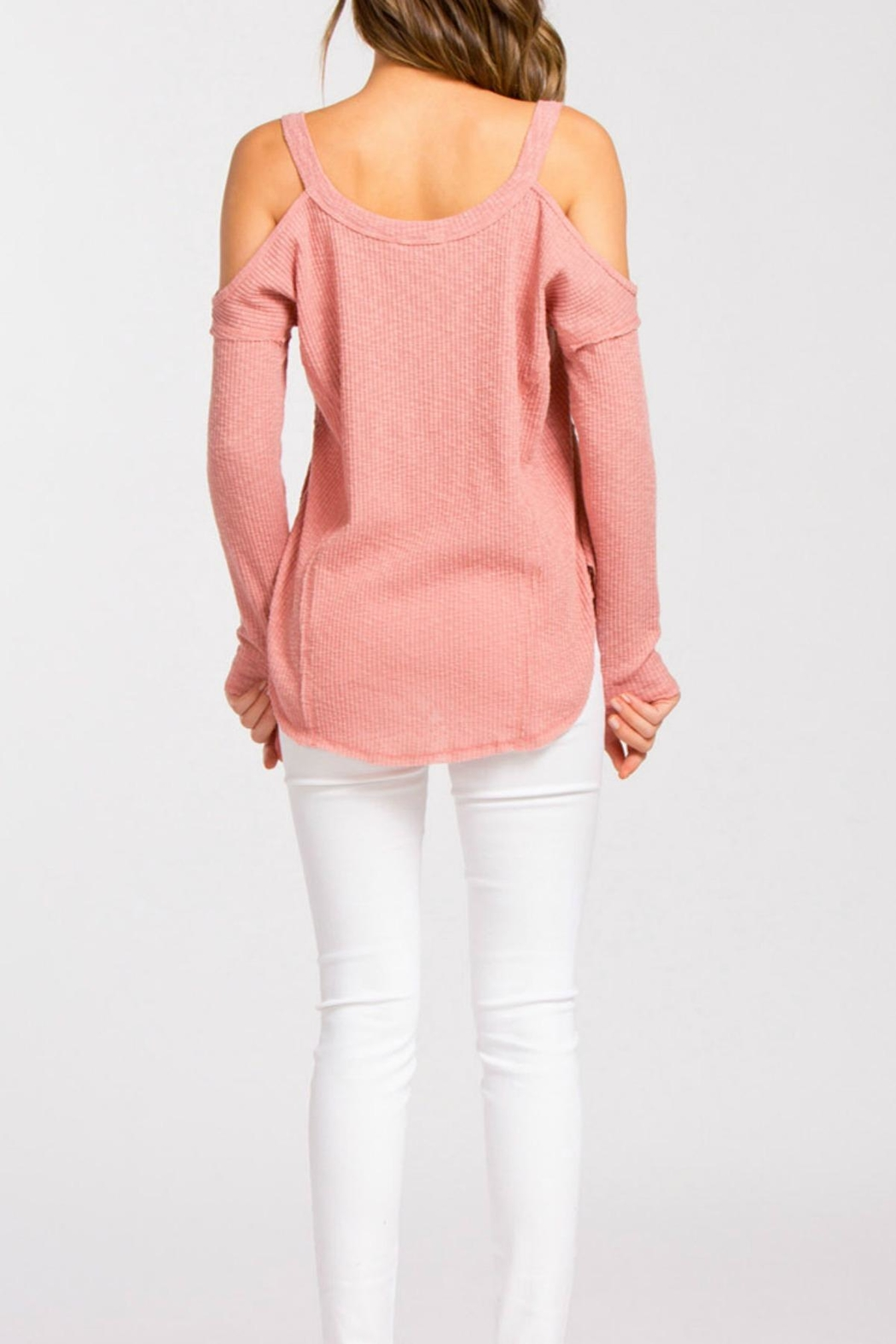 Cherish Dusty Pink Sweater from Dallas by Emmersin Rose — Shoptiques